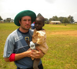 Andy returns to Uganda